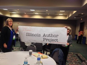 The Soon to be Famous Illinois Author project made its debut at the Illinois Library Association conference today.